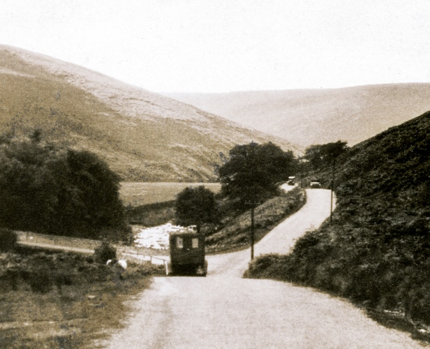 Country Road With Van (Enlargement)