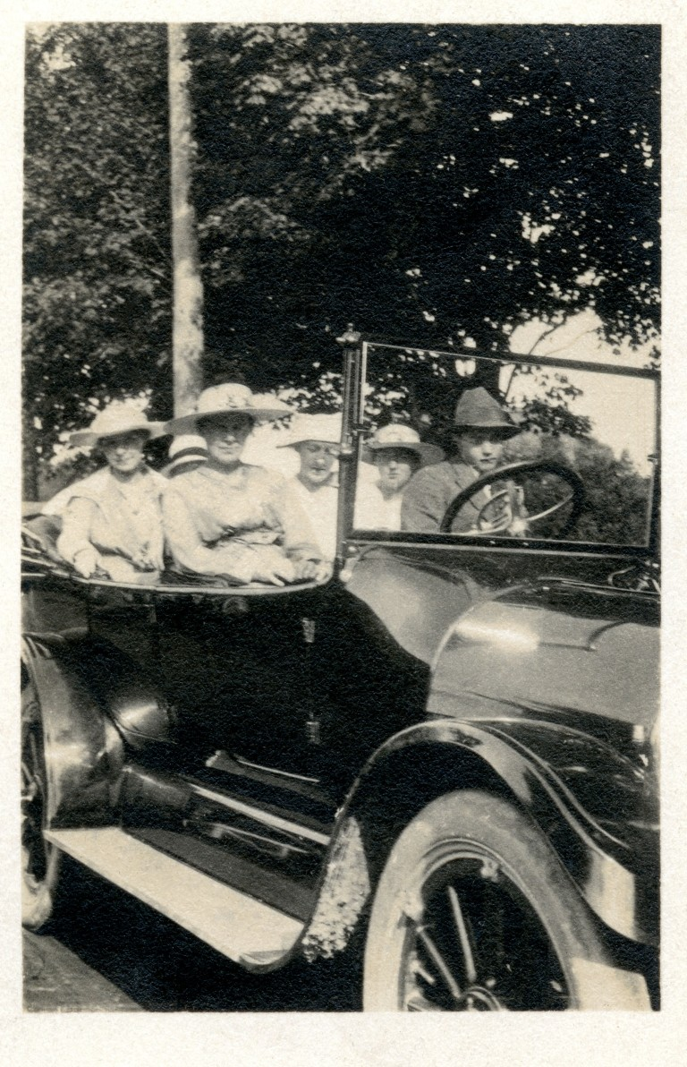 Six Hats And A Roadster