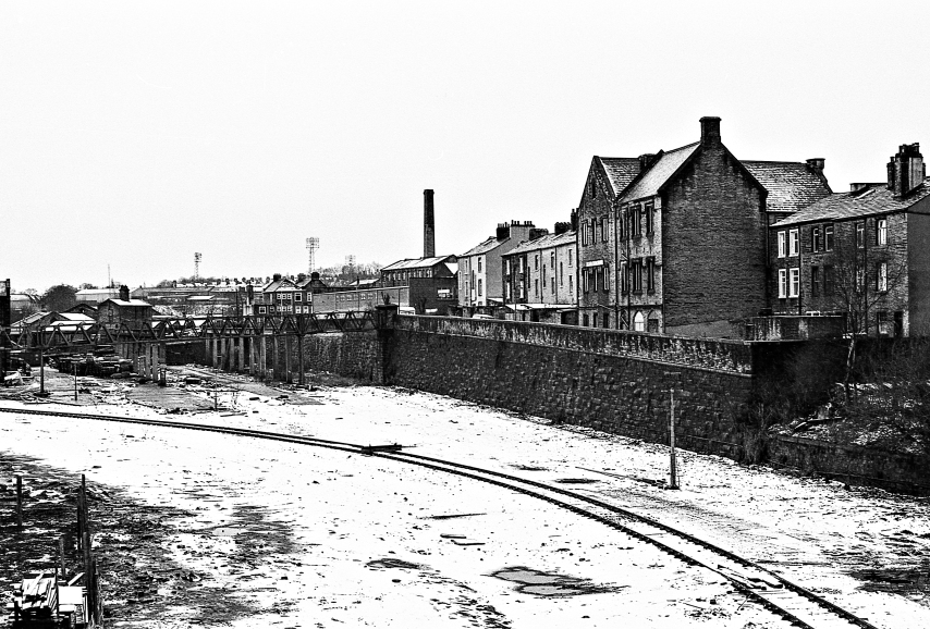 Scanned 35mm B&W Negatives (A1-10d) : Railway Sidings - Halifax