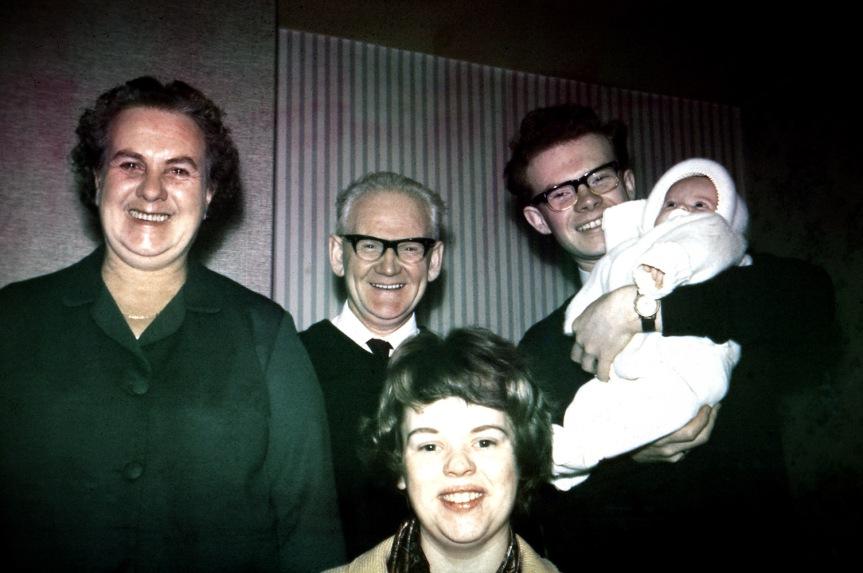 Gladys, Albert, Norma, Roger & Di