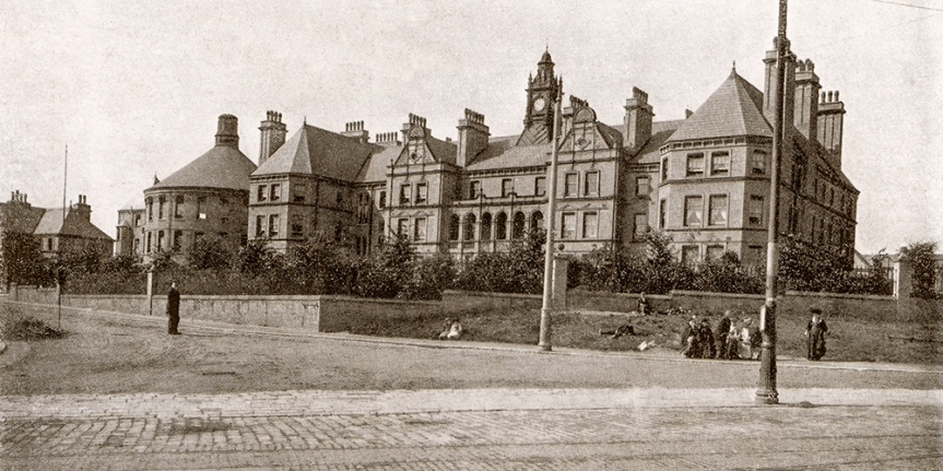Postcards From Home : Halifax's Hospital On TheHill
