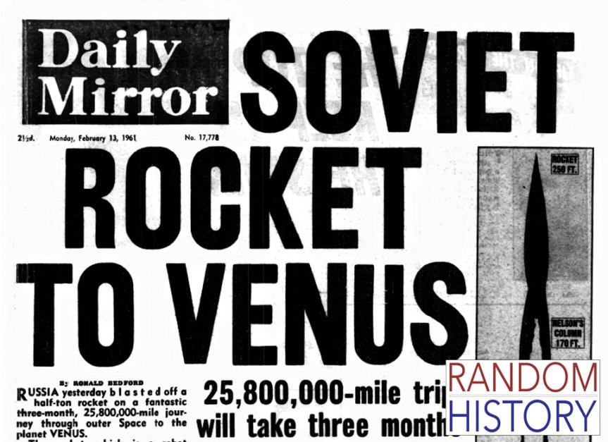 Random History : 13 February1961