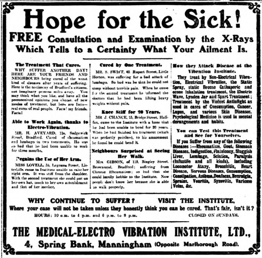 Random News : Hope For The Sick InBradford