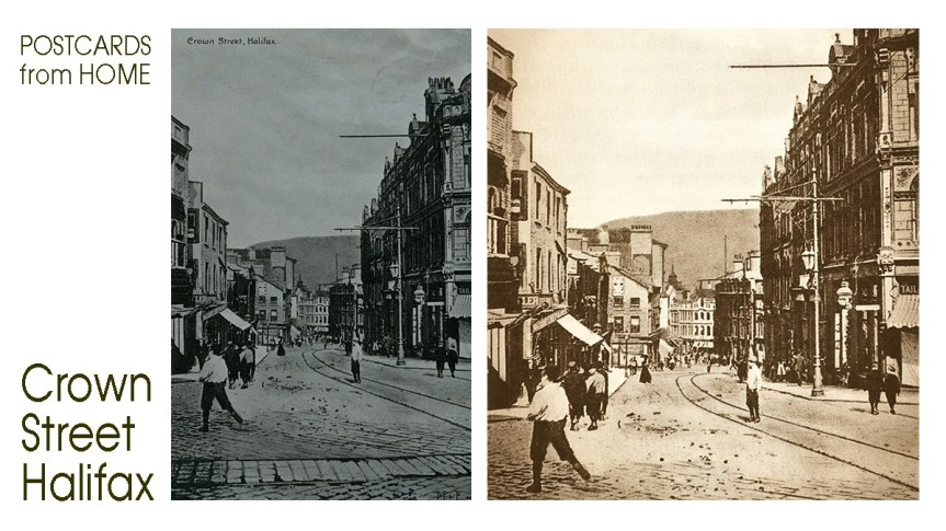 Postcards From Home: Crown Street,Halifax