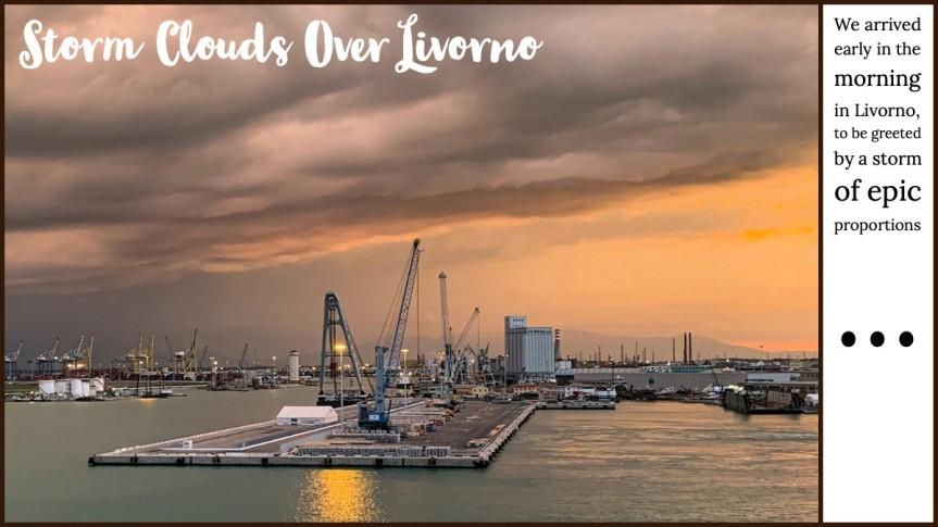 Storm Clouds OverLivorno