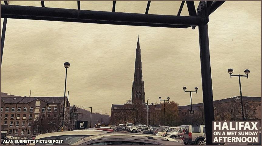 Mill, Church And CarPark