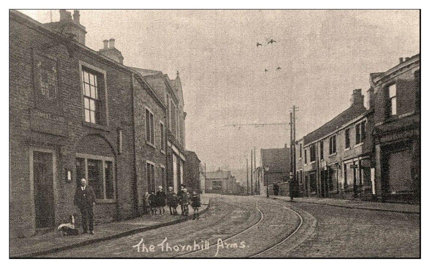 The Lost Pubs Of Brighouse : No. 6  The ThornhillArms