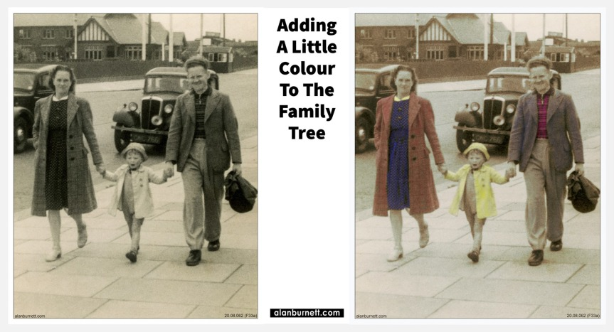 Adding A Little Colour To The FamilyTree