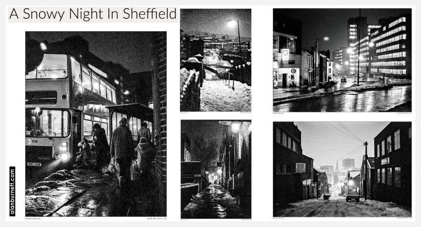 A Snowy Night InSheffield