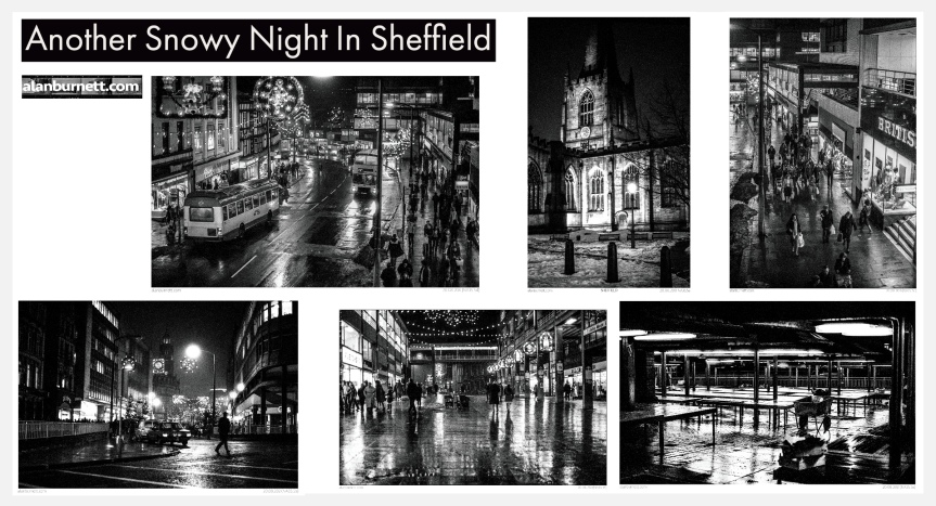 Another Snowy Night InSheffield