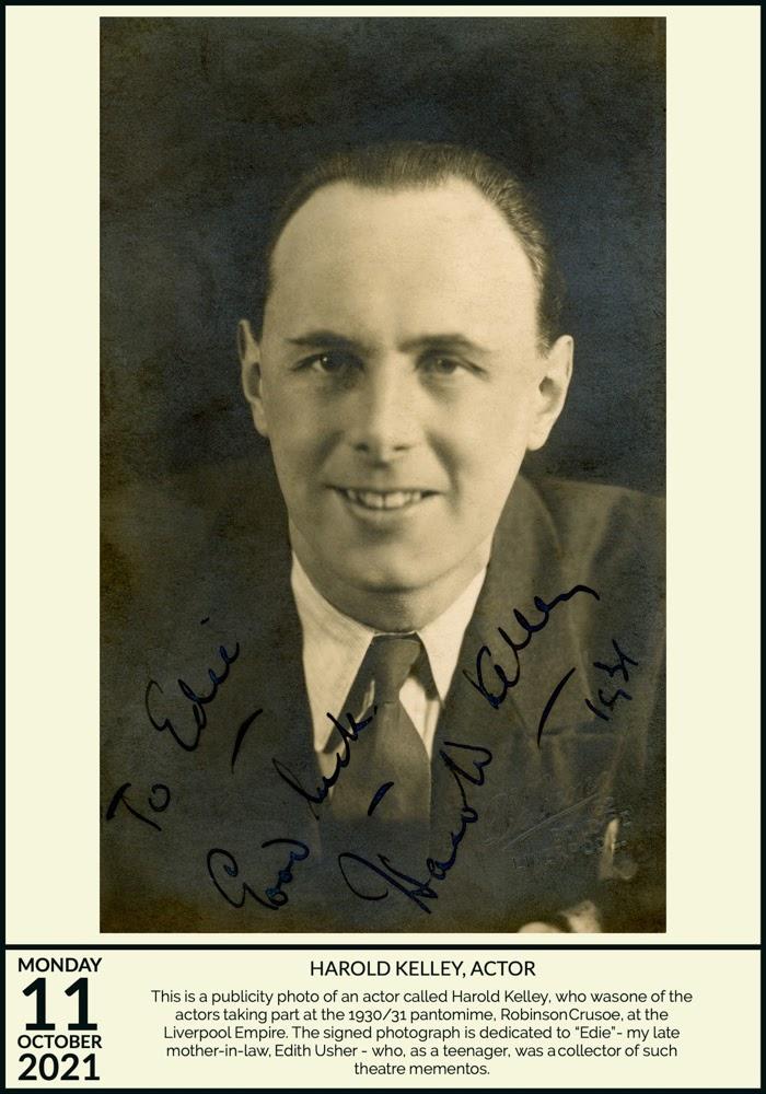 Harold Kelley, Actor
